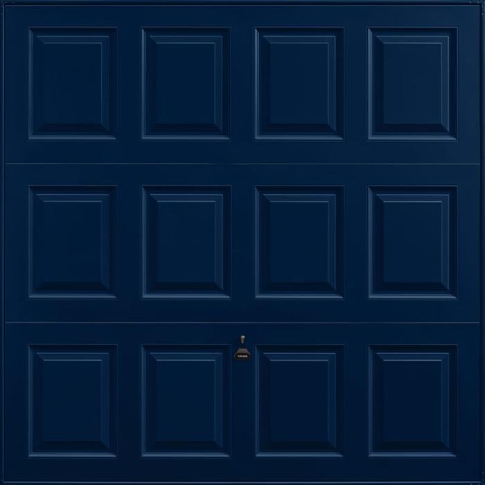 Georgian Steel Blue Garage Door