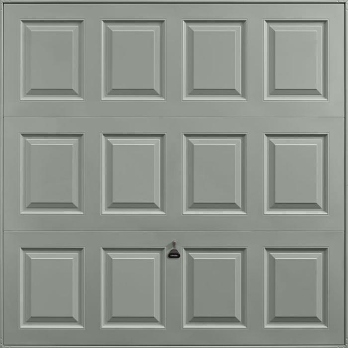 Georgian Stone Grey Garage Door