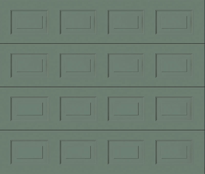 Georgian Stone Grey Sectional Garage Door