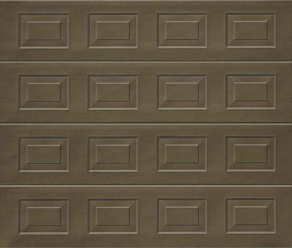 Georgian Terra Brown Sectional Garage Door