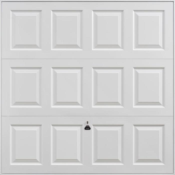 Georgian White Garage Door