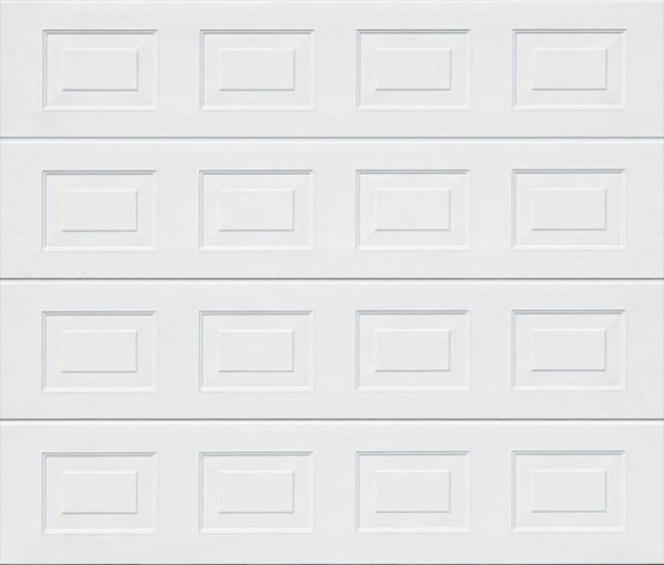 Georgian White Sectional Garage Door