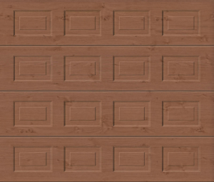 Georgian Winchester Oak Sectional Garage Door