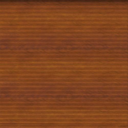 Painted Golden Oak Roller Garage Door