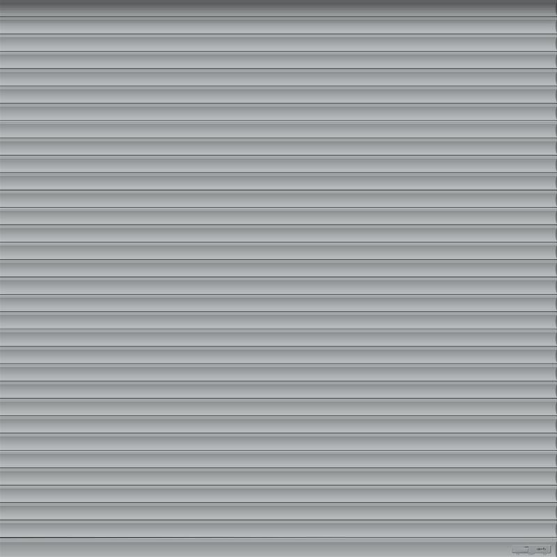Grey Roller Garage Door