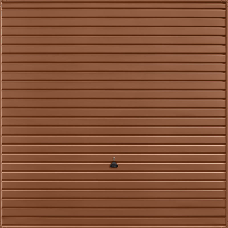 Horizon Clay Brown Garage Door