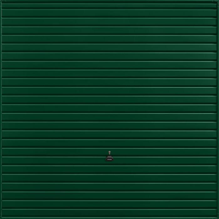 Horizon Fir Green Garage Door