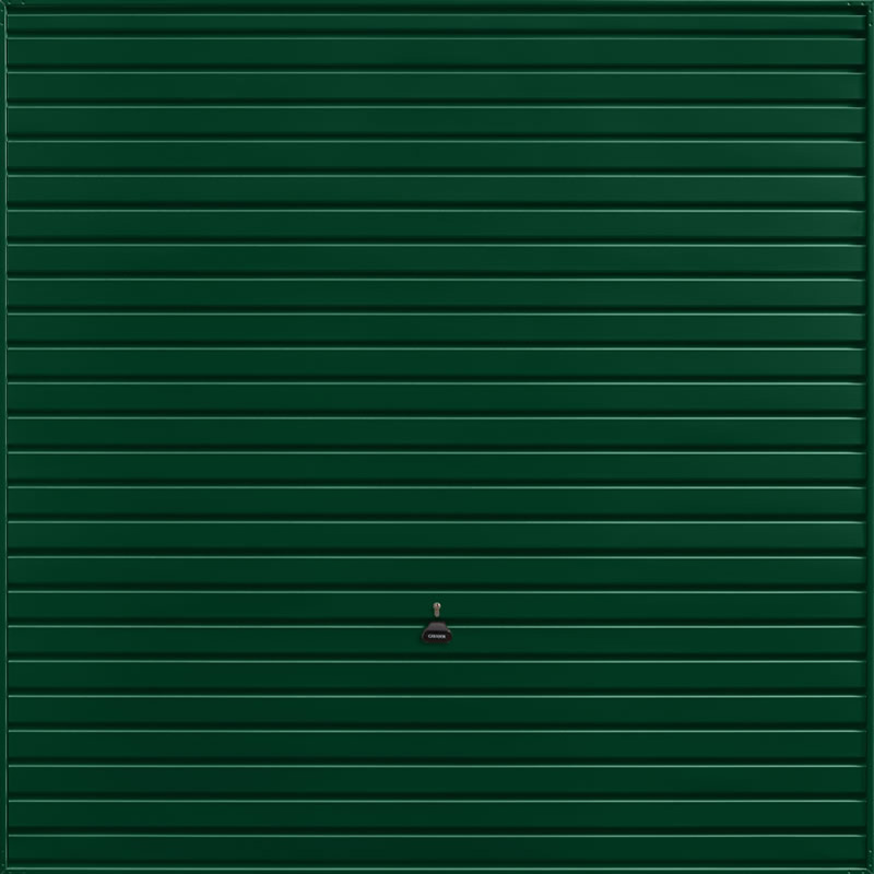 Horizon Fir Green Garage Door