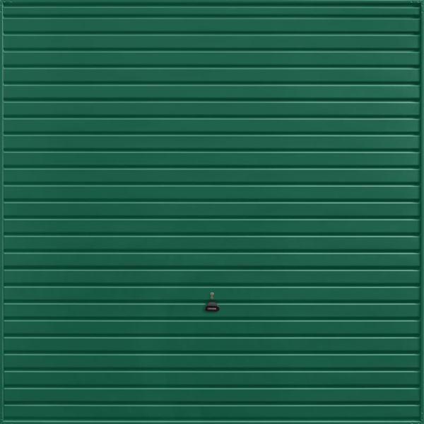 Horizon Moss Green Garage Door