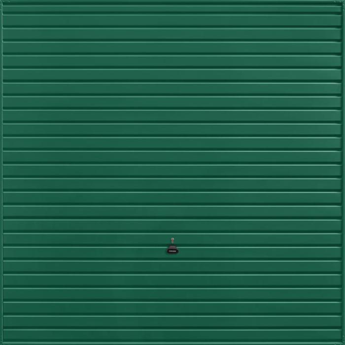 Horizon Moss Green Garage Door
