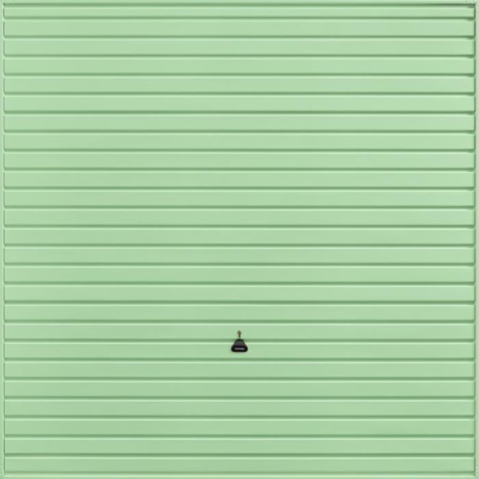 Horizon Pastel Green Garage Door