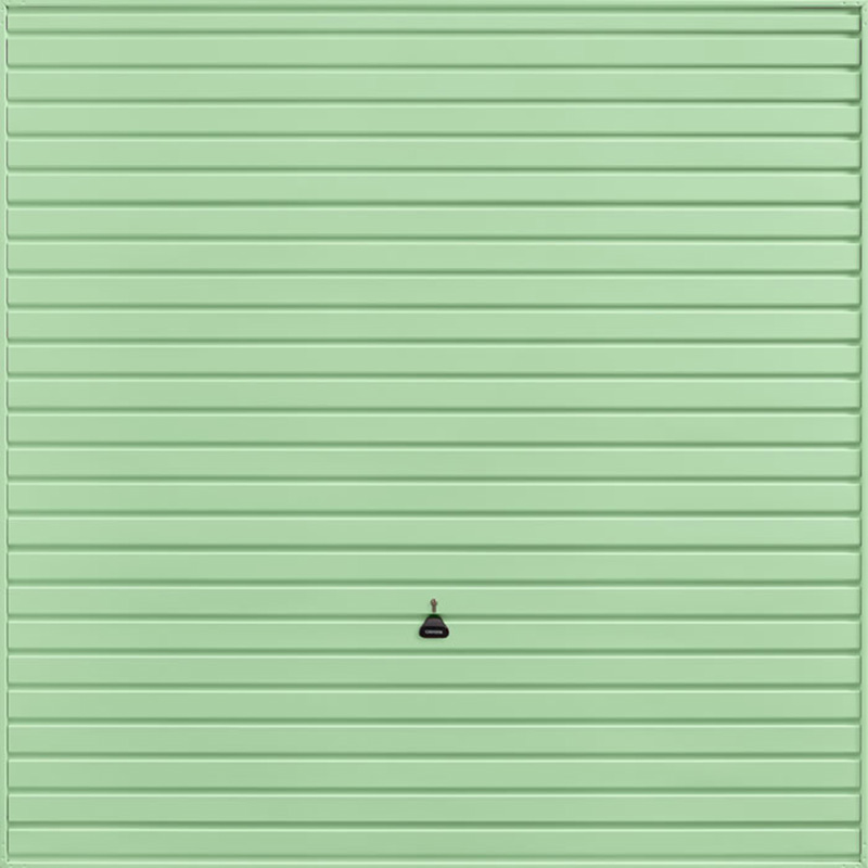Horizon Pastel Green Garage Door