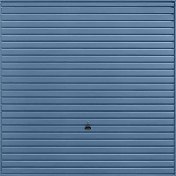 Horizon Pigeon Blue Garage Door