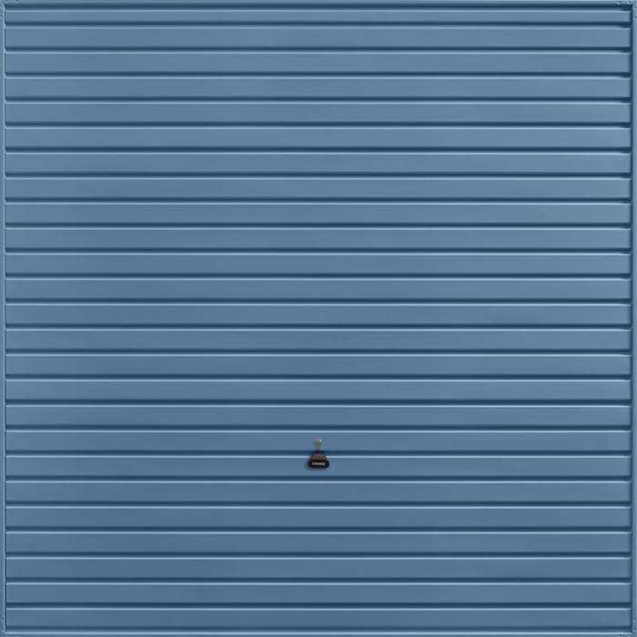 Horizon Pigeon Blue Garage Door