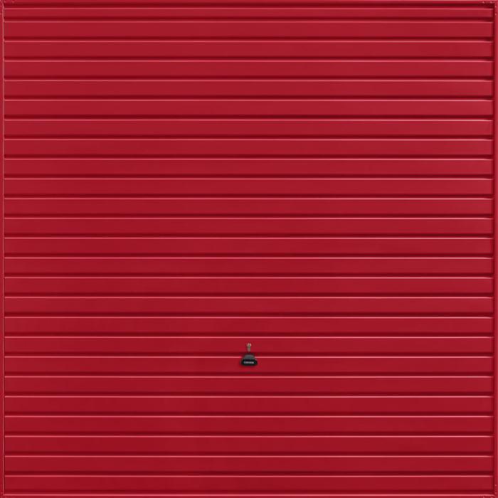 Horizon Ruby Red Garage Door