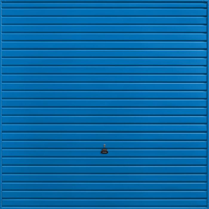 Horizon Signal Blue Garage Door