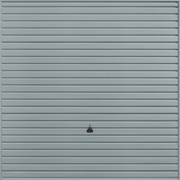 Horizon Window Grey Garage Door
