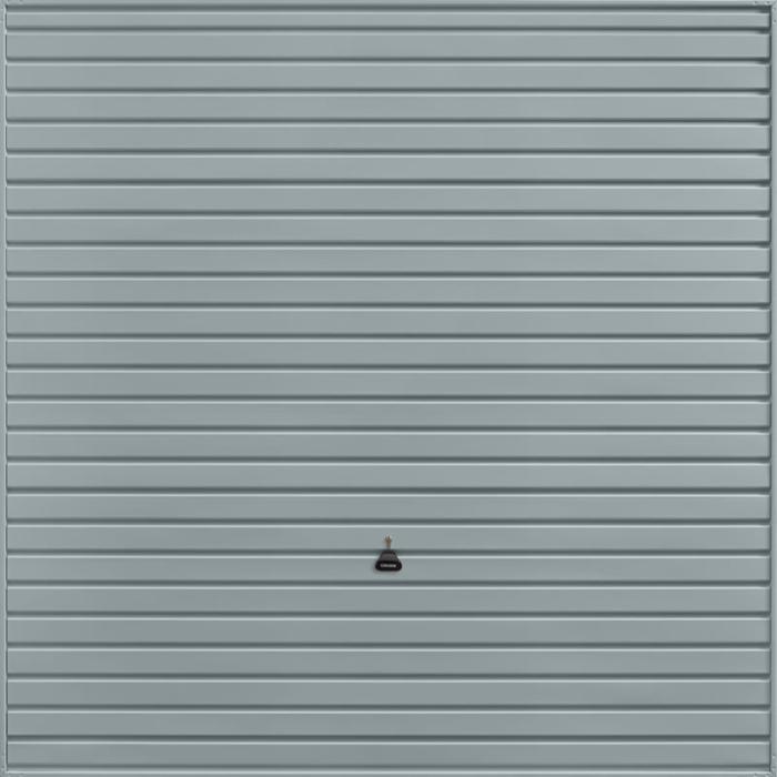 Horizon Window Grey Garage Door