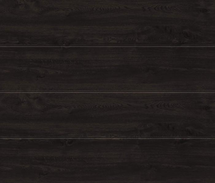 Linea Large Night Oak Sectional Garage Door