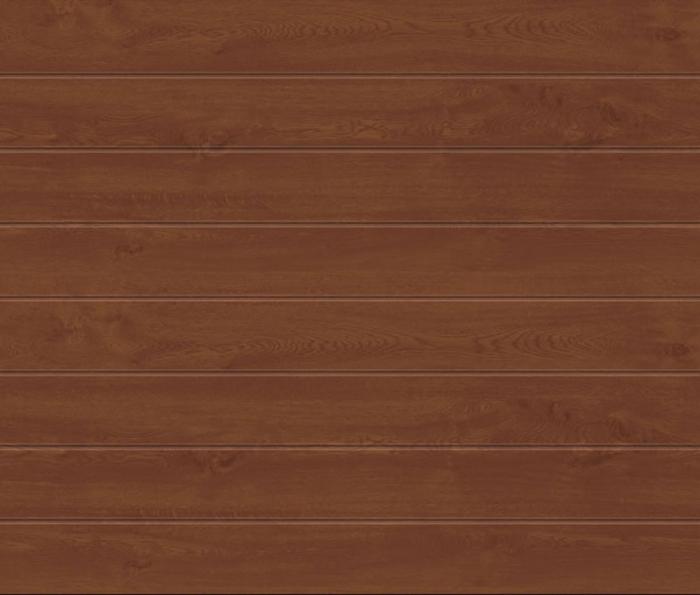 Linea Medium Golden Oak Sectional Garage Door