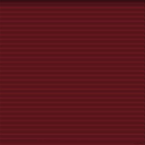 Red Roller Garage Door