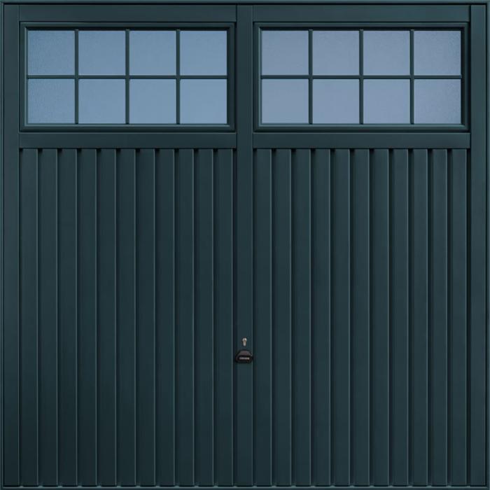 Salisbury Anthracite Grey Garage Door