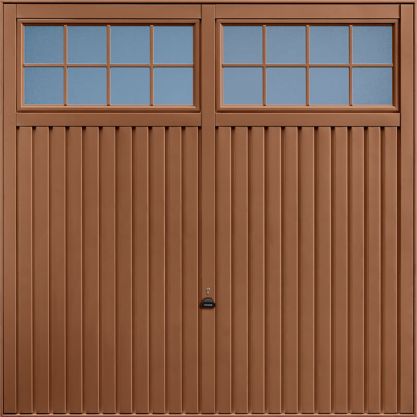 Salisbury Clay Brown Garage Door