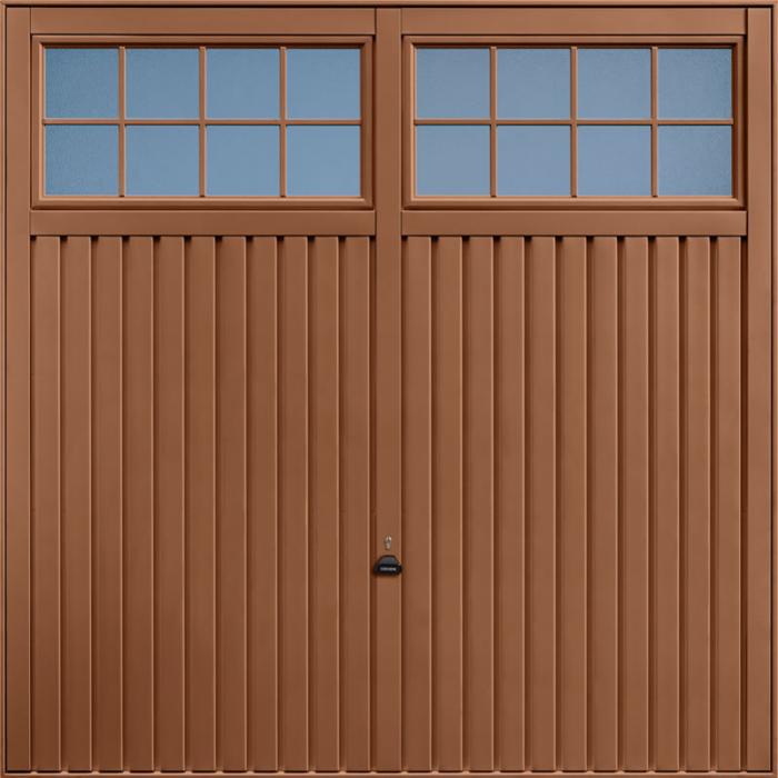 Salisbury Clay Brown Garage Door