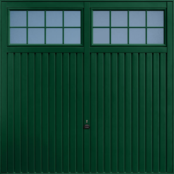 Salisbury Fir Green Garage Door
