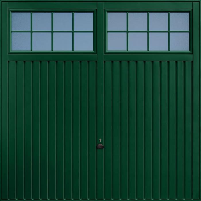 Salisbury Fir Green Garage Door