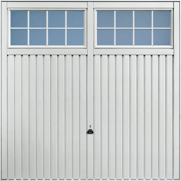 Salisbury Light Grey Garage Door