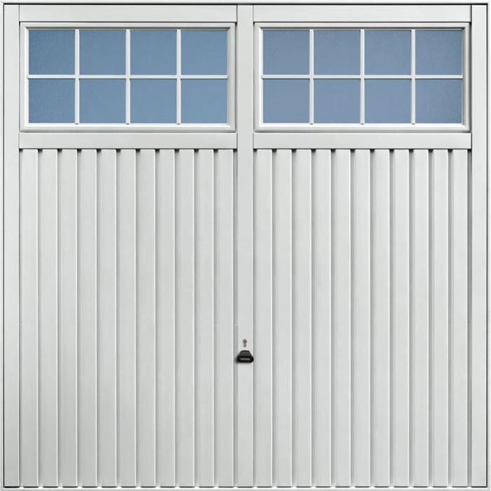Salisbury Light Grey Garage Door