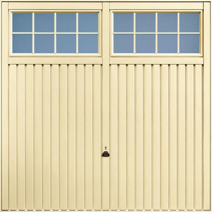 Salisbury Light Ivory Garage Door