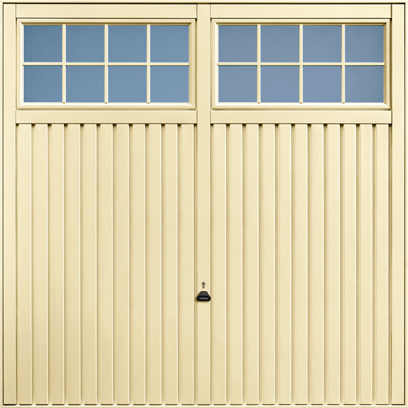 Salisbury Light Ivory Garage Door