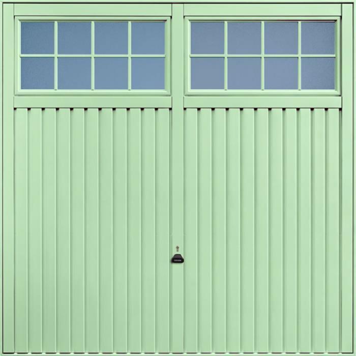 Salisbury Pastel Green Garage Door