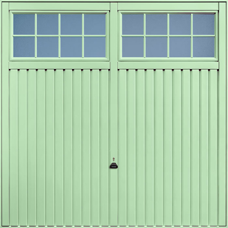 Salisbury Pastel Green Garage Door