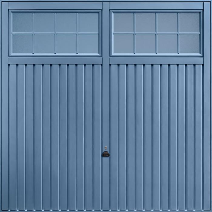Salisbury Pigeon Blue Garage Door