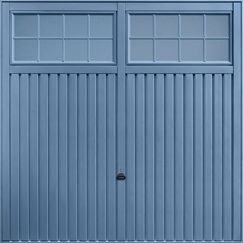 Salisbury Pigeon Blue Garage Door