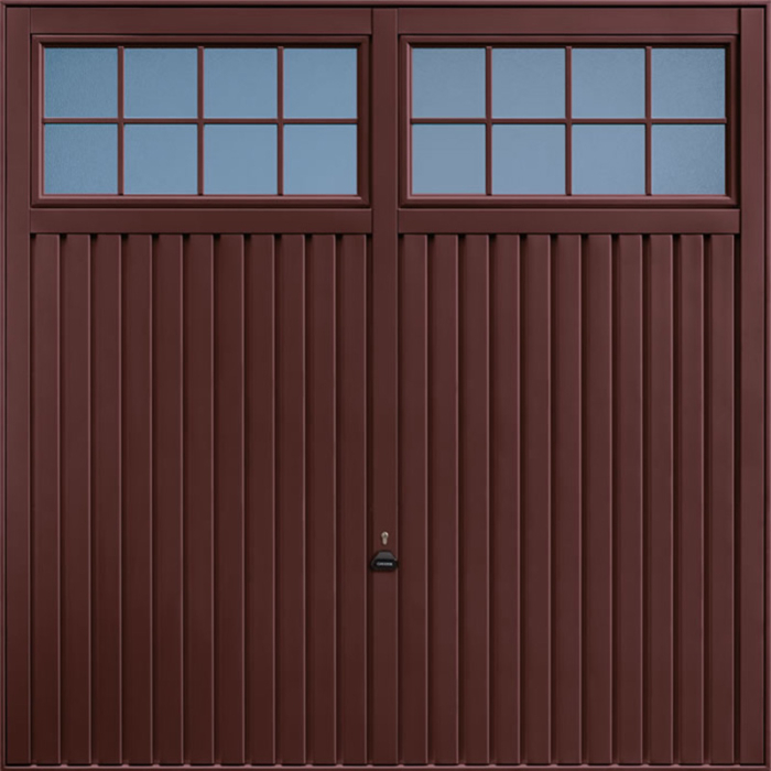 Salisbury Rosewood Garage Door