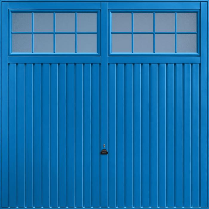 Salisbury Signal Blue Garage Door