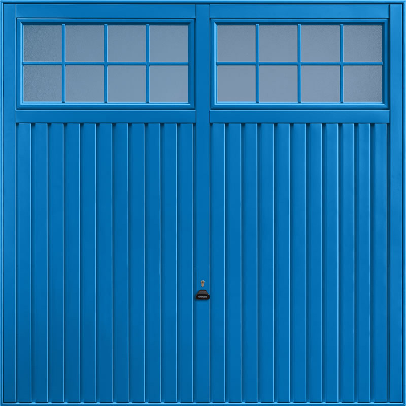 Salisbury Signal Blue Garage Door