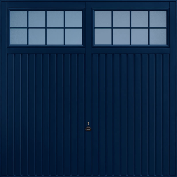 Salisbury Steel Blue Garage Door