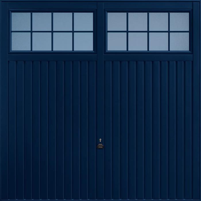Salisbury Steel Blue Garage Door
