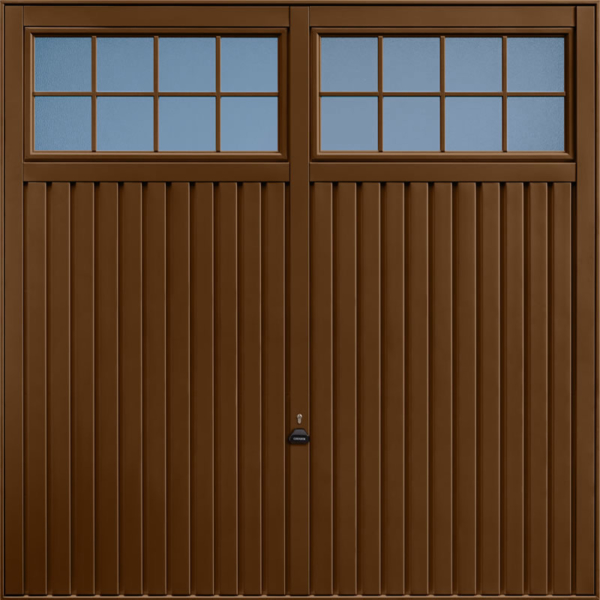 Salisbury Terra Brown Garage Door