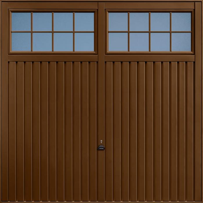 Salisbury Terra Brown Garage Door