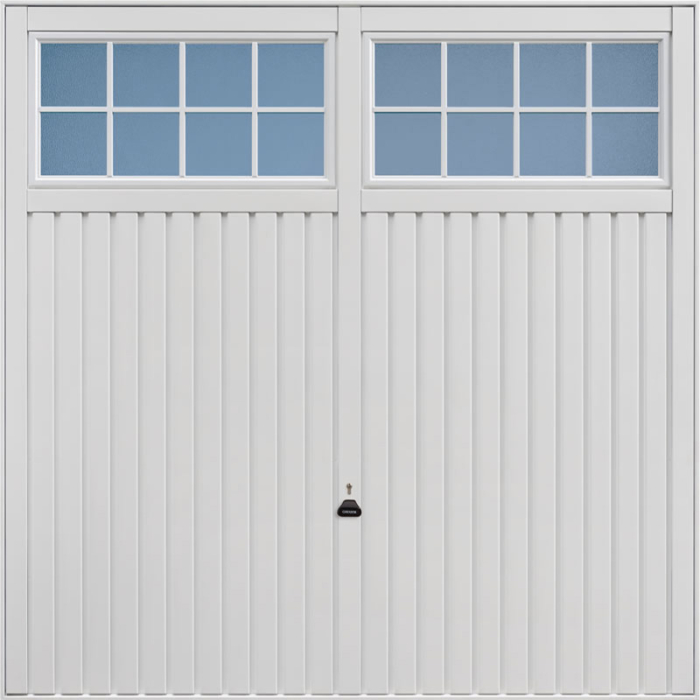 Salisbury White Garage Door