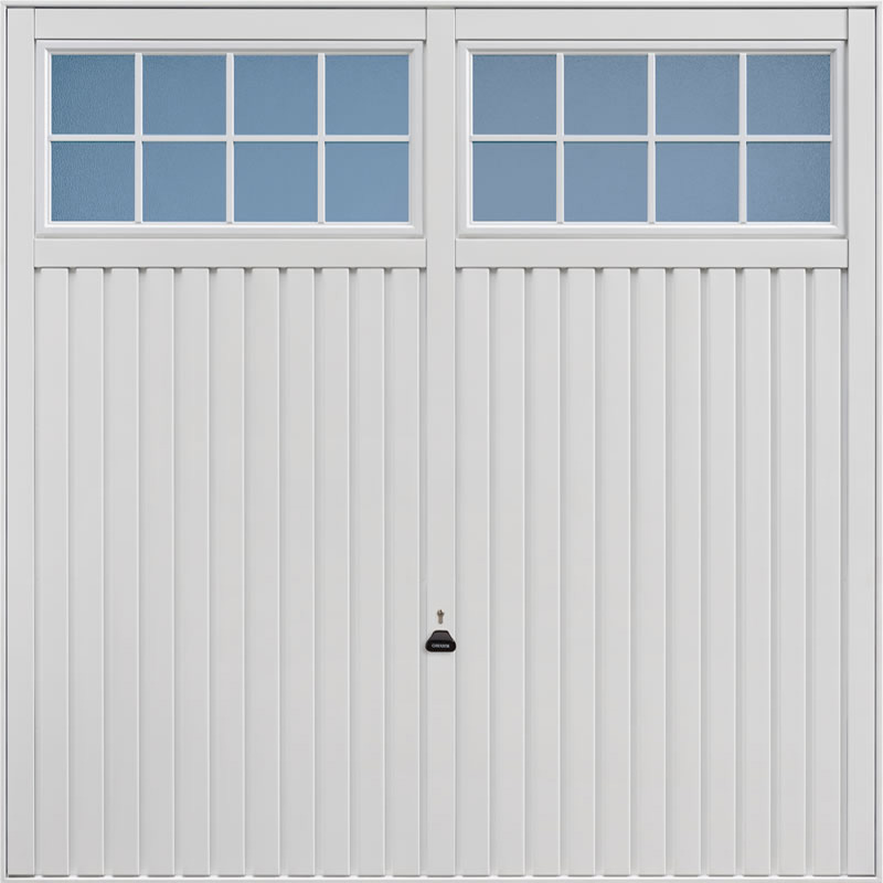 Salisbury White Garage Door