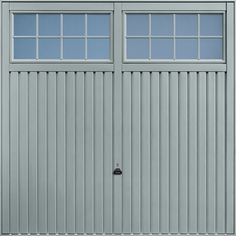Salisbury Window Grey Garage Door