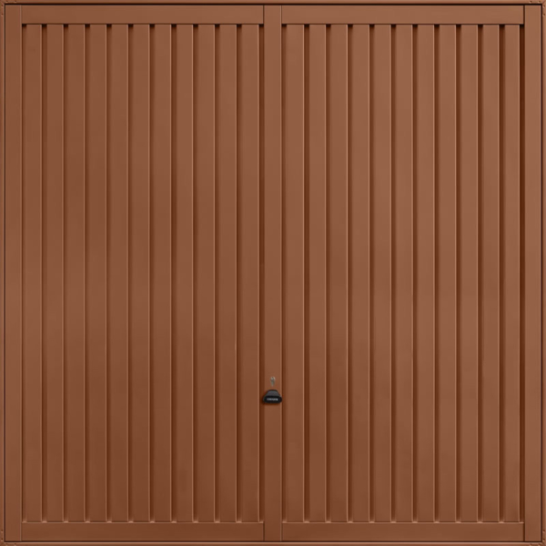 Sutton Clay Brown Garage Door
