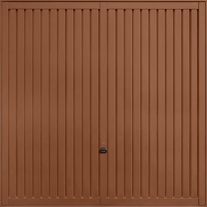 Sutton Clay Brown Garage Door